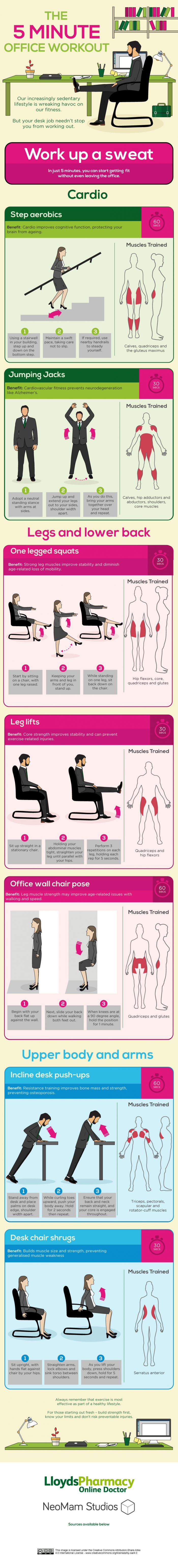 five-minute-office-workout-options-infographic