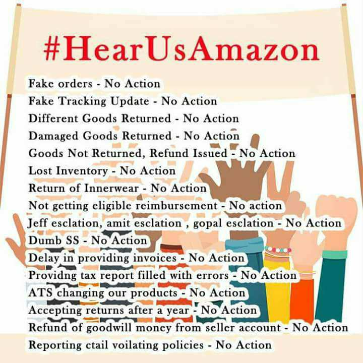 amazon-India--sellers-protest